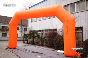 Outdoor Inflatable Sport Start Finish Line 6m-14m Width Blow Up Advertising Arch With Custom Logo For Event