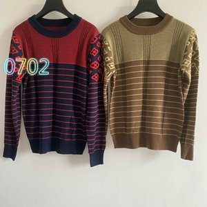 High-end 2020 women's fashion temperament pullover long-sleeved round neck wool-blend sweater female knit top