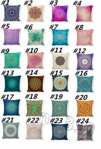 горячая абстрактная геометрия наволочка для дивана-кровати талия наволочки Home Decor круговые путешествия наволочки Home TextilesT2I5385