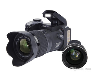 Polo D7100 L Kamera 33mp DSLR yarı profesyonel 24x Telefoto Geniş Açı Lens Setleri 8x Dijital Zoom Kameralar Odak