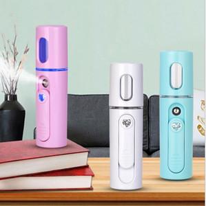 Portable Nano Vapor Mini Cool Facial Steamer Inodore / 20mL Water Tank Spruzzatore Water Replenishment Skincare Instrument