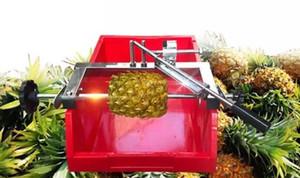 Manuel Ananas soyma makinası paslanmaz çelik ticari ananas soyucu kesici manuel ananas göz sökücü bıçak verimlilik araçları