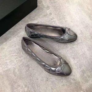 2019 signore di modo di velluto del cuoio genuino svago Appartamenti morbido superiore delle donne di lusso classico elegante semplici scarpe arco 34-42