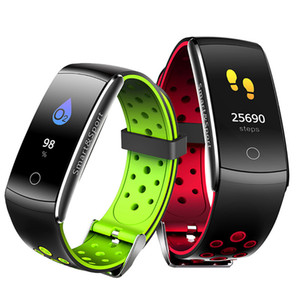 Q8S Smart Bracelet Heart Rate Monitor Blood Pressure Blood Oxygen Sports Tracker Watch Fitness Tracker Waterproof Wristwatch For IOS Android