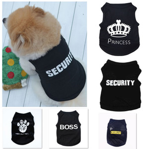 5 styles d'été Vêtements pour chiens Vêtements Cat Gilet Nouveau Petit pull offre Pet Cartoon Vêtements t shirt pour chiot pas cher Jumpsuit Outfit XD22318