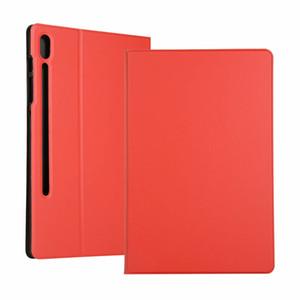 Para Samsung T860 Flip Case Hot couro plástico rígido Armadura Bracket tampa protetora capa para Samsung Galaxy Tab S6 T860 10,5