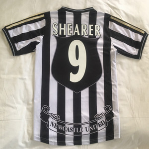 Top 1997/1998 Jerreys de football rétro Shearer 9 Asprilla 11 Emre Owen Ketsbaia 95/96 Home Football Shirts 2005/06 SweatShirt Edition Taille S-XXL