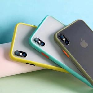 Toptan Darbeye Kılıf Samsung Galaxy S5 8 9 10 11 E PLUS Silikon Şeffaf Mat Telefon Kapak iphone 7plus için Huawei p30 için