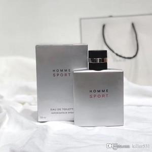 Parfum pour homme frais de haute qualité argent mâle parfum parfum durable EDT100ML livraison rapide livraison gratuite