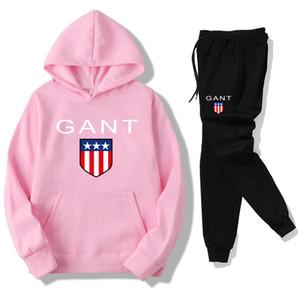 Ropa de mujer y sudadera con capucha de diseñador para hombre, traje casual de sport o chándal y conjunto de pantalón de mujer y hombre Tamaño: S-3XL Gan-2