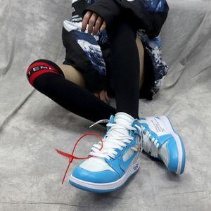 Off White AJ1 Nike Air Jordan 1 OW LV 85 Ceeze UNC Parra Chicago Designers Brand The Ten Virgil Abloh Kanye West Fashion Men Women Sports Running Shoes Sneakers Basketball Shoes