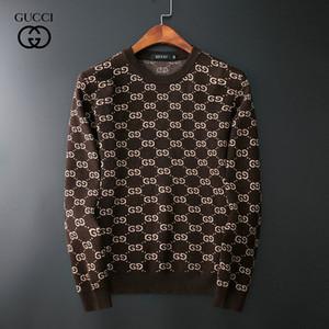 pull logistique gratuit nouvelles de marque de luxe à manches longues pull européens et américains casual pour hommes mode tendance pull M-XXXL A28