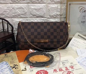 Hight Quality Genuine Leather Handbag Favorite Women Shoulder Bag 40718 favorite purse mm real leather