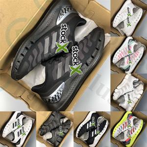 2020 Hot Con la scatola Climacool Vento piattaforma uomini donne scarpe da ginnastica Triple Nero Segnale Bianco Ciano segnale verde Shock Rosa mens scarpa sportiva corridore