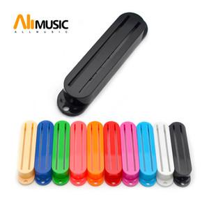 20pcs Plastic Humbucker Dual Rail Electric Guitar Pickup Capas de duas linhas Pickup Capas de 10 cores para a escolha