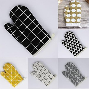 Oven microwave gloves upset insulation Heat resistant non-slip pan Baking pan barbecue Heat-insulating tool Baking tools
