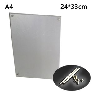 Acrilico Photo Picture Certificato fotogramma Display Stand A5 / A4 Accessori