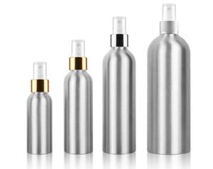10pcs 30ml 50ml 100ml 150ml 250ml 500ml Aluminium Spray Atomiser Bottle Refillable Empty Bottles Atomizer Packaging Tool