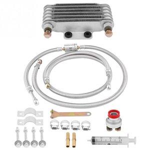 85 мл масляный радиатор охлаждения масла двигателя радиатор системы комплект для GY6 100CC-150CC двигатель мотоцикл кулер мотор аксессуары