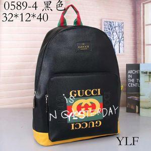 2019 Ombro Designers Mochila Mens Luxo Backpack Marca Duplo Bags Escola Clássica Moda Bolsas Designers Shoulder Bag 78 * 005