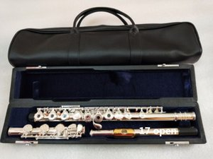 Alta qualità genuina flauto 471 chiave di 17 buche e aprire C flauto primaria Alpacca instrumentos musica flauta professionale