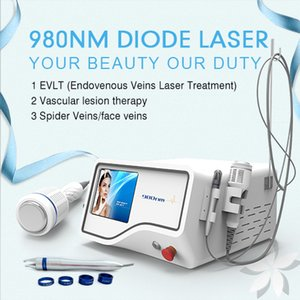 CE approved diode laser 30w 980 nm for vascular treatment 980nm red blood vessels removal machine for medical laser centre