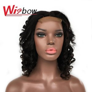Natural Hair Peruvian Wig 16 Inch Funmi Hair Egg Curl Wig 180% Bouncy Curly With Closure Curly Wigs For Black Women