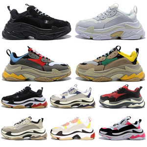 Balenciaga Vendita calda Moda uomo lusso donna scarpe calzino stringato nero bianco rosso piattaforma piatta designer uomo sneakers Speed Trainers sneakers casual