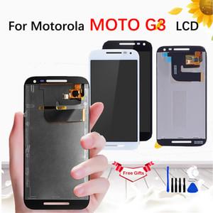 """5.0 """"Motorola MOTO G3 3rd Gen Için LCD xt1544 xt1550 xt1540 XT1541 XT1543 LCD Ekran Dokunmatik Ekran Digitizer Meclisi Ile"""