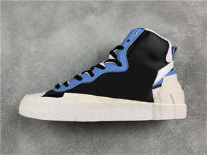 2019 HotSale Blazer Mid x Sacai Skate-Schuh-Low-beiläufige Turnschuh-Designer-Leinwand-Schuhe der Frauen Männer