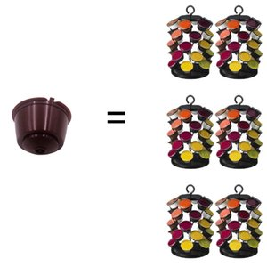 3Pcs Pack Refillable Coffee Capsule Reusable Capsule for Nescafe Dolce Gusto Fit for Nescafe Coffee Machine