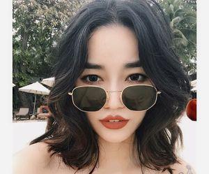 Myopic Face Korean Sunglasses Net Chao Personality Glasses Retro Red 2019 New Version Luxury-Hexagonal Style Sunglasses Street Ftkmp Ro Vqpd
