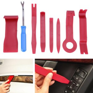 Car Radio Panel Interior Door Clip Panel Trim Dashboard Fix Kit(8Pcs)