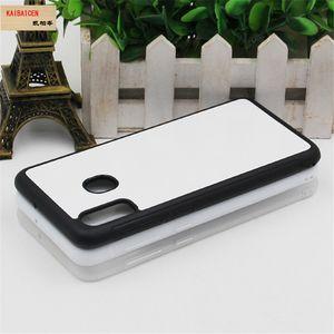 Per Samsung A10 / A10S / A10E / A20E / A30 / A40 / A50 / A51 / A60 / A70 caso della copertura / A71 di caso PC + di TPU gomma morbida 2D sublimazione vuoto di calore trasferimento Phone