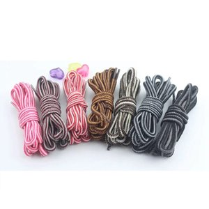 1 Pair Multicolor Round Shoelaces Outdoor Sport Casual Martin Boots Shoe Laces Sneakers Shoelaces Skate Boot Shoe Laces