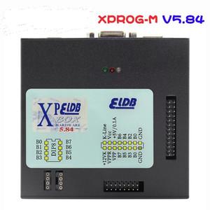 Hot Sale Auto ECU Programmer X-prog V5.84 XProg5.84 Box Chip Tuning Tool XPROG-M 5.84 with USB Dongle