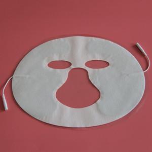 Cuscinetto per elettrodi di bellezza facciale per unità Tens / Ems, elettrodi di ricambio per elettrodi di terapia digitale TENS di terapia