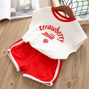 Summer 2PCS Toddler Little Girls Clothes Set Kids Baby Girl Floral Top T-Shirt Pants Outfits Sets Clothing 2 3 4 5 6 7 8 Years