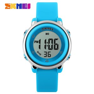 Time American fashion children's electronic watch night light female waterproof student LED watch Amazon foreign trade popular style