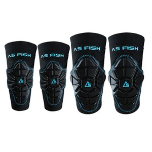 Kids Sports Protective Gear Skating Knee Elbow Support Pads Set for Biking, Riding, Cycling and Multi Sports - Select Colors