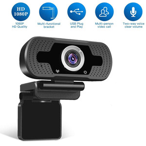 Full HD Wecam USB-Web-Kamera für Computer-PC 2.0mpx 1080P-Web-Cam eingebaute Geräuschpolsterung Mikrofon Video anrufen Aufzeichnung W8