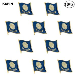 Bandera de Idaho U.S.A. Pin de la solapa insignia Broche Pin 10pcs mucho