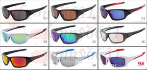 10 UNIDS verano marca NUEVO hombre que conduce gafas de sol Gafas deportivas Ciclismo al aire libre Gafas de sol Gafas de viaje 9 colores A +++ envío gratis