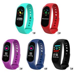 سوار ذكي للياقة البدنية ل Xiaomi Fitness Tracker M3S سوار ذكي مع ساعات معدل ضربات القلب للهواتف المحمولة أبل Fitbit الروبوت