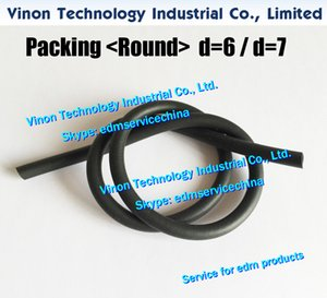 (2 шт / много) 3536531 A325 EDM Печать Упаковка круглый D = 7мм, натриевые A325 Tank уплотнение полосы 7мм для Slide Plate