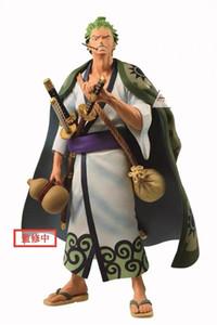 In stock Banpresto One Piece Figure WaNo Kuni Roronoa Zoro Oversea limited PVC action figure model figurine Y200421