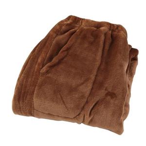 De inverno de espessura Coral velo Calças tamanho grande calças soltas quentes calças Início calças de veludo térmica velo Inverno Quente
