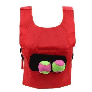 Cute Kids Outdoor School Catch Pull Ball Game Activity Kindergarten Equipment Educational Toys Sport Vest Waistcoat For Children
