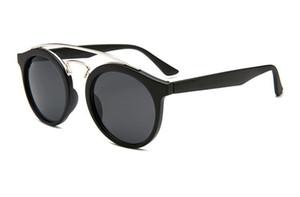 4256 new color film Sunglasses fashionable men's and women's reflective dazzle color Sunglasses driving Sunglasses