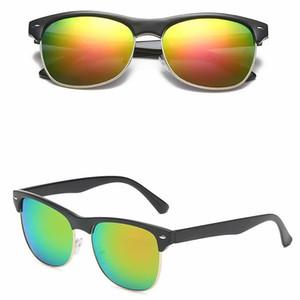 Классические женщины мужские солнцезащитные очки мода стеклянные линзы солнцезащитные очки очки очки спортивные вождения велосипедные солнцезащитные очки 8 цветов